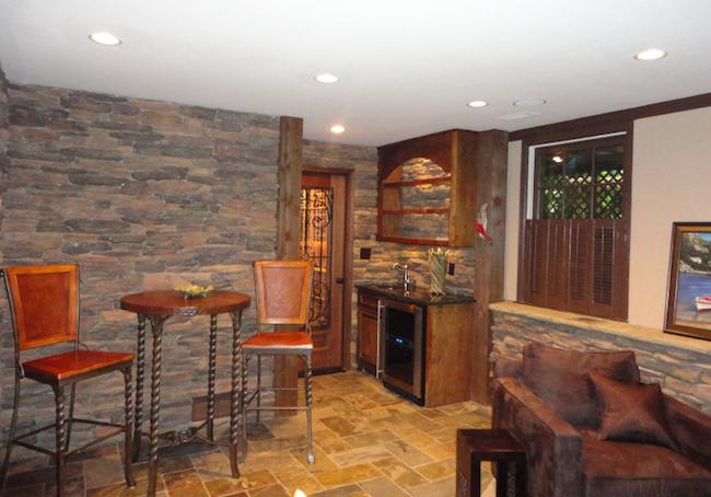 Basement, Bar, and Wine Cellar Remodeling in Dunwoody, Atlanta